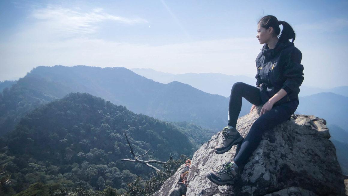 台中|攀越岩稜陡壁才能抵達的IG打卡秘境- 鳶嘴山