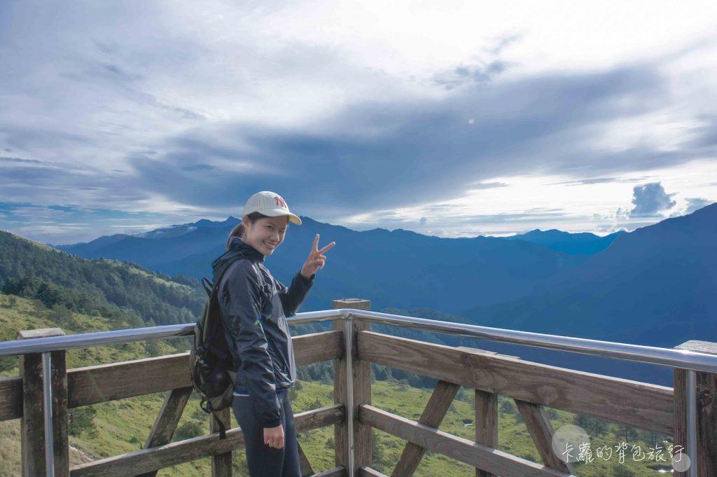 卡蘿的背包旅行-合歡山遊客中心觀景台