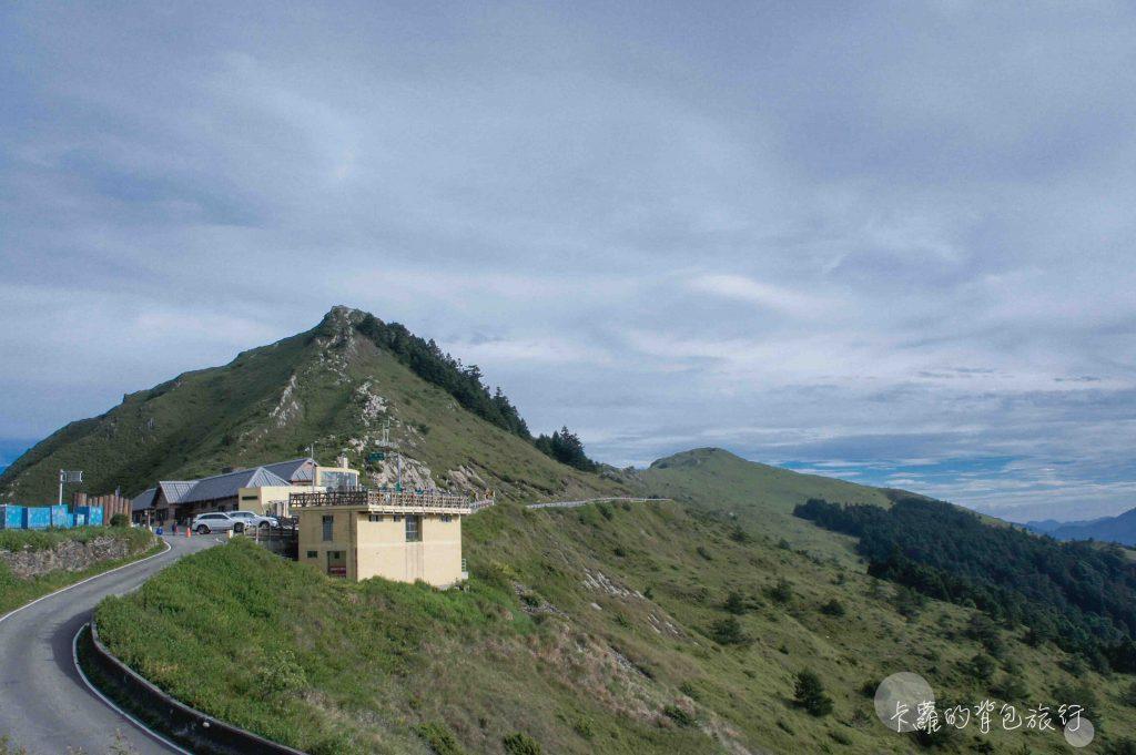 卡蘿的背包旅行-合歡山遊客中心與景觀台