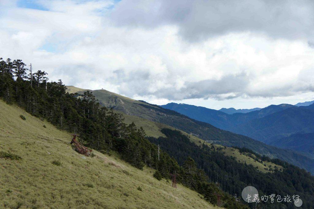 卡蘿的背包旅行-合歡山東峰