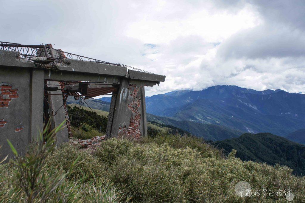 卡蘿的背包旅行-合歡山東峰滑雪場遺址