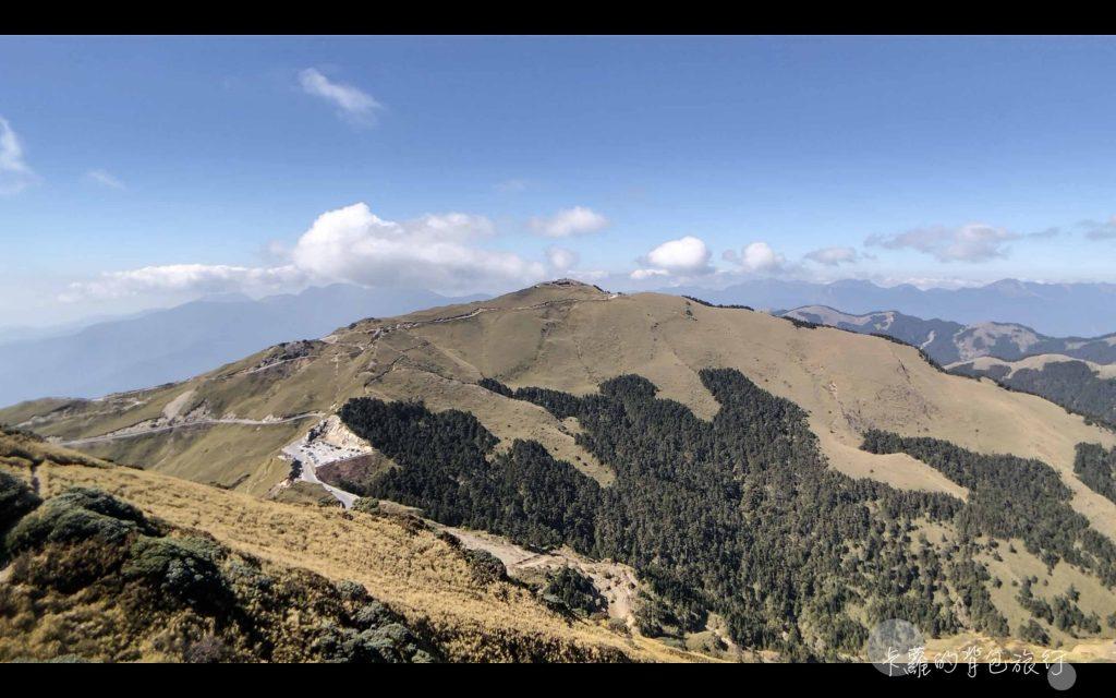 卡蘿的背包旅行-合歡山東峰攻頂之景