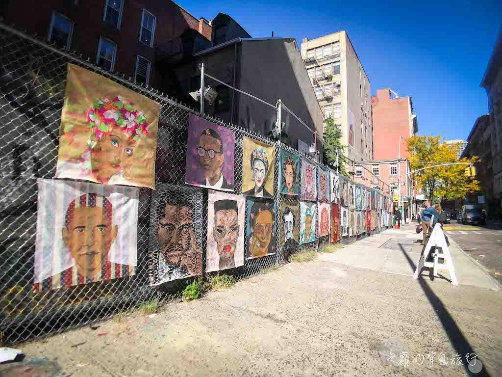 曼哈頓街頭塗鴉藝術